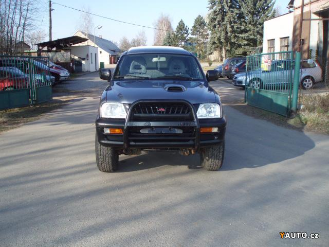 Prodám Mitsubishi L 200 2.5 TD
