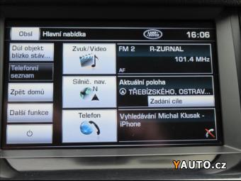 Prodám Land Rover Discovery 3,0 SDV6, HSE, 1. Maj. DPH, 7-míst