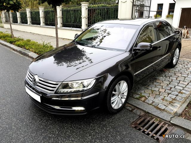prod m volkswagen phaeton 3 0 tdi v6 4motion prodej. Black Bedroom Furniture Sets. Home Design Ideas