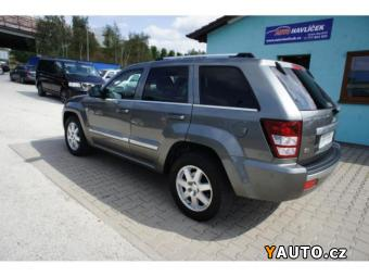 Prodám Jeep Grand Cherokee 3.0 CRD 160 Kw OVERLAND Původ