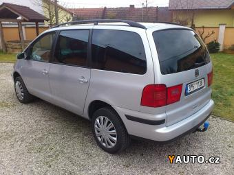 Prodám Seat Alhambra 1,9TDI 96kW zachovalé