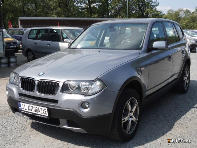 Prodám BMW X3 2.0 d 130kW