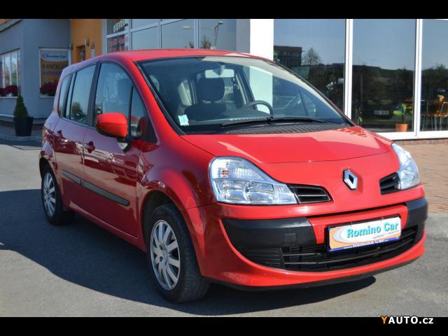 Prodám Renault Modus 1,1 GRAND 1.2 TCE, klima, ser.