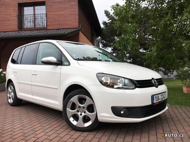 Prodám Volkswagen Touran 1,6Tdi 77kw DSG