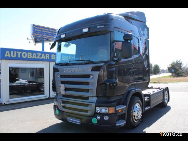 Prodám Scania R440 MANUÁL RETARDÉR Euro 5