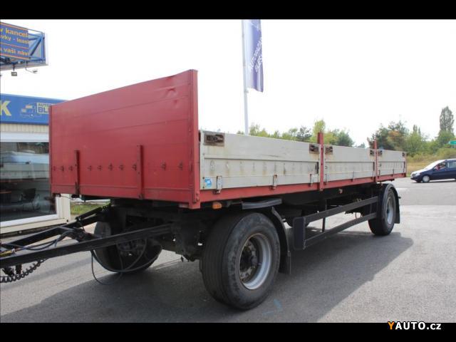 Prodám Schwarzmüller BDF 2, E BPW přívěs pro náklad
