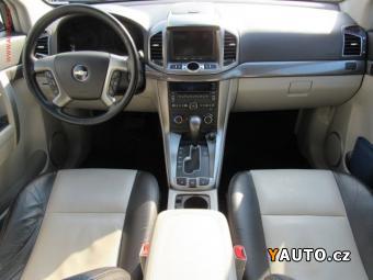 Prodám Chevrolet Captiva 4x4 7míst 2.2 VCDi, ČR, AT