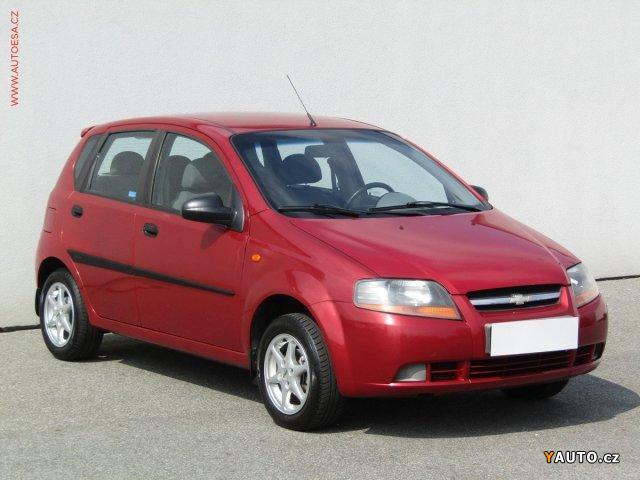 Prodám Chevrolet Kalos 1.2i, ČR, +sada kol
