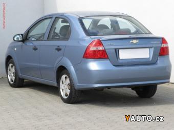 Prodám Chevrolet Aveo 1.2, ČR, STK 5, 20