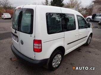 Prodám Volkswagen Caddy 2,0 TDI 4Motion AutoAC+TAŽNÉ
