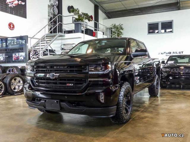 Prodám Chevrolet Silverado 6,2 Z71 Midnight Edition 2018