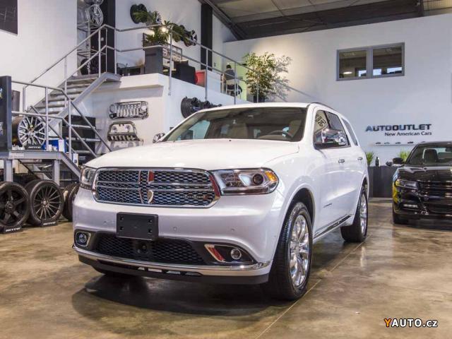 Prodám Dodge Durango 5,7 Citadel 5.7 HEMI MY2018