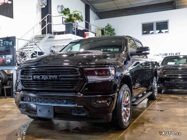 Prodám Dodge RAM 5,7 Sport 2019 Adaptivní temp.