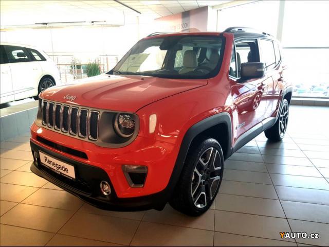 Prodám Jeep Renegade 2,0 MJT 4WD AUT. LIMITED
