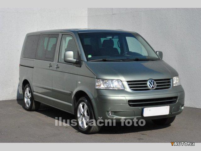 Prodám Volkswagen Multivan 2.5 TDI, nezávislé topení