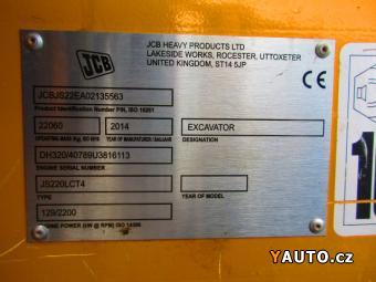 Prodám JCB JS 220 LC T4 (22,1 t)