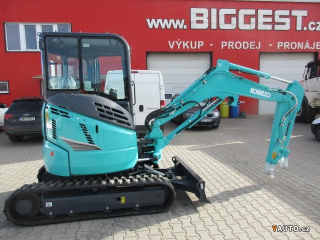 Prodám Kobelco SK 30 SR (3,4 t)