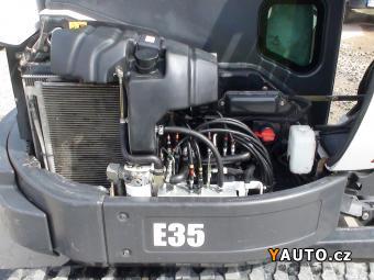 Prodám Bobcat Minibagr E 35 - klimatizace