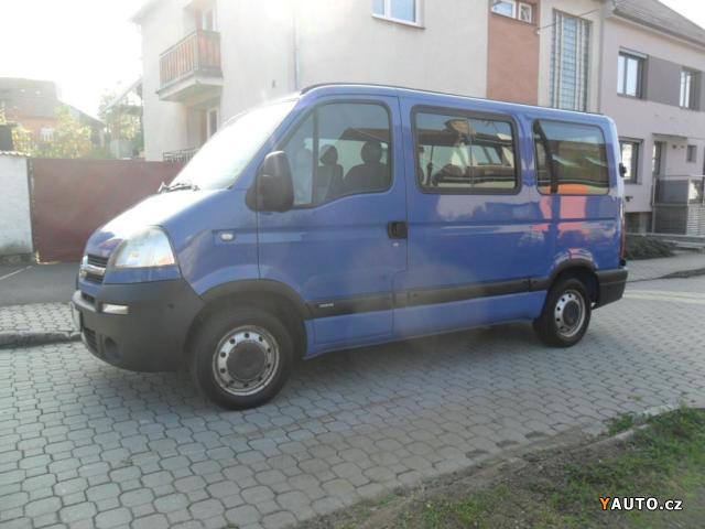 Prodám Opel Movano 2.5CDTI 9 míst