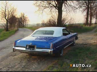 Prodám Cadillac Eldorado Convertible