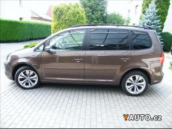 Prodám Volkswagen Touran 2,0 TDi103 KW AT NAVI NEZ. TOP.