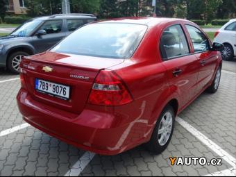 Prodám Chevrolet Aveo 1,2 16V LT PLUS