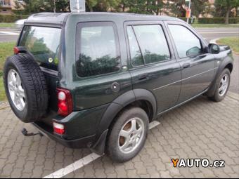 Prodám Land Rover Freelander 1,8 LPG PLATNOST 12, 2025