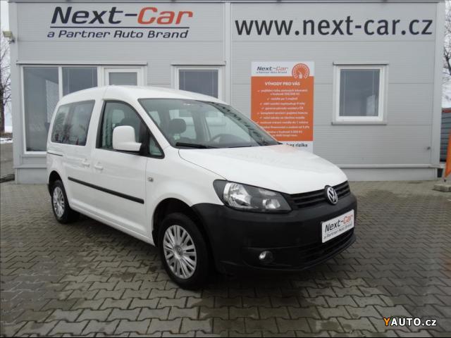 Prodám Volkswagen Caddy 1,6 TDI Trendline serviska ČR