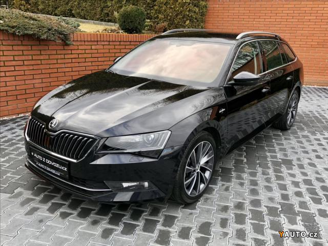 Prodám Škoda Superb 2,0 TDI CR 140KW 4x4 DSG L&amp