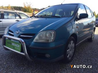 Prodám Nissan Almera Tino 2.2 TDi nové v ČR - ser. kniha