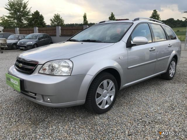 Prodám Chevrolet Lacetti 2.0 CDTi, 1. MAJ., SER. KN., ČR