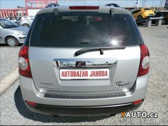 Prodám Chevrolet Captiva 2,0 CDT, 4x4, aut. klima. s. kn. CZ