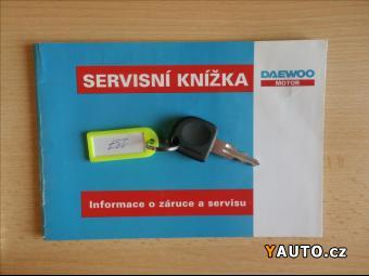 Prodám Daewoo Matiz 0,8 i, servisní knížka