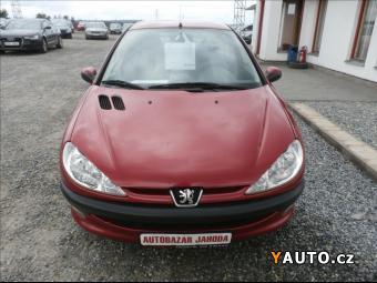 Prodám Peugeot 206 1,1 i, servisCZ, ZAMLUVEN