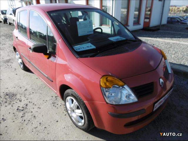 Prodám Renault Modus 1,6 klima, serviska