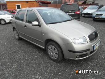 Prodám Škoda Fabia 1.2i 47 kW 1. Majitel ČR -48.00