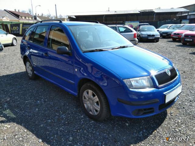 Prodám Škoda FABIA COMBI 1.4TDI 51KW -TAŽNÉ-STK do 04, 2