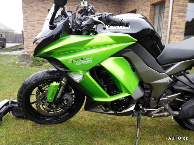 Prodám Kawasaki Z1000 SX, 2014
