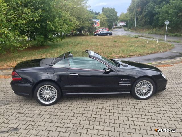 Prodám Mercedes-Benz SL SL 55 AMG roadster