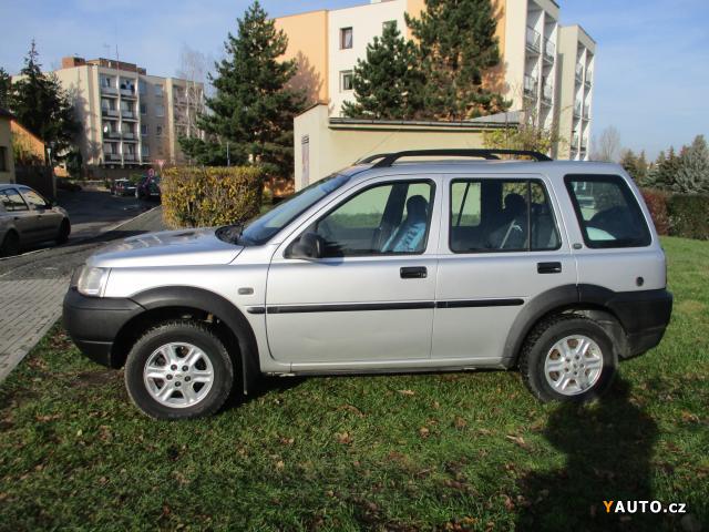 Prodám Land Rover Freelander 1.8 benzín-LPG