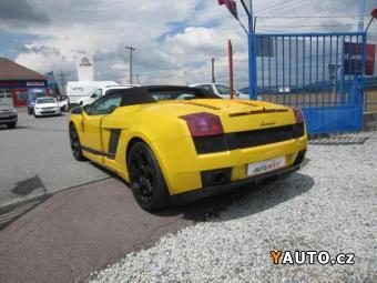 Prodám Lamborghini Gallardo SPIDER 382 KW, KABRIO