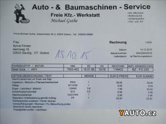 Prodám Seat Ibiza 1,4 MPI POSILOVAČ ŘÍZENÍ