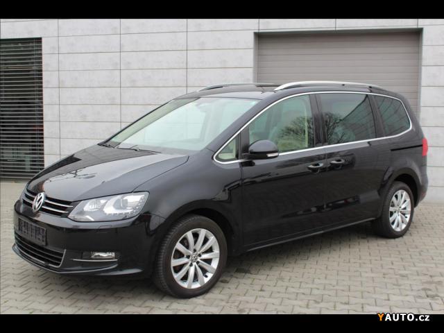 Prodám Volkswagen Sharan 2,0 TDi DSG 6-MÍST EL. DVEŘE