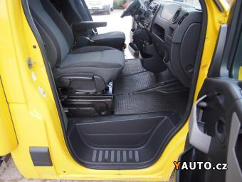 Prodám Renault Master 2.3DCi, 120kw, valník+čelo, 8pale