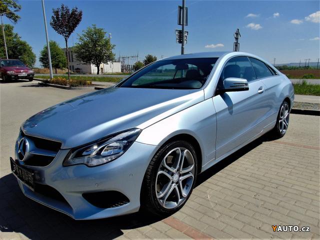 Prodám Mercedes-Benz  Třídy E 220CDI COUPE, SERVIS M. B.