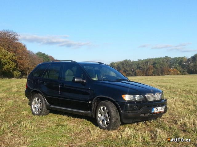 Prodám BMW X5 e53 4, 4i