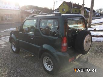 Prodám Suzuki Jimny 1.3i 60kW