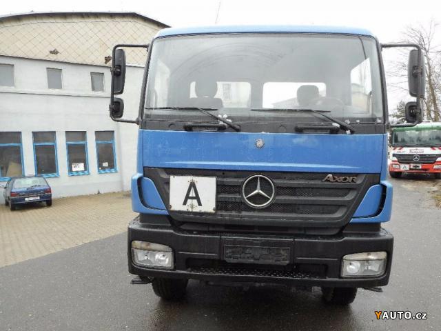 Prod m mercedes benz 1828 4x4 jnk prodej ostatn n kladn vozy for Mercedes benz 4 x 4