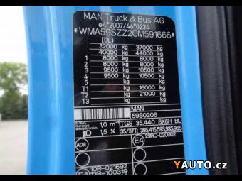 Prodám MAN TGS 35.440  8x6 Meiller S1  EU