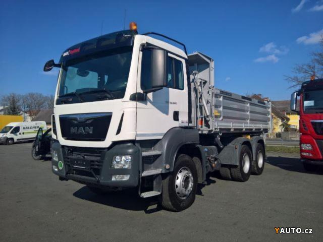 Prodám MAN TGS 33.440 6x4 Meiller S3 EUR